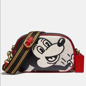 New💃Coach Disney Mickey Mouse Camera Crossbody